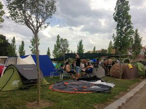 zona de acampada